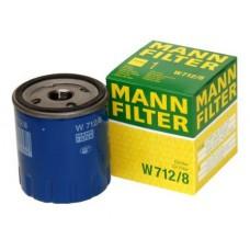 Фильтр масляный MANN-FILTER W712/8