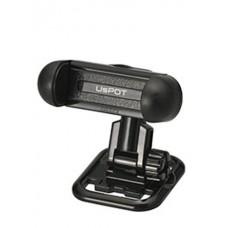 Держатель для телефона Carmate Smartphone Holder, пластиковый, черный Carmate UP422