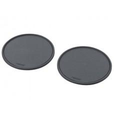Коврик противоскользящий Carmate Non Slip Sheet, круглый, с бортом, диаметр 65 мм, 2 шт., черный Carmate SZ134