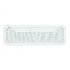 Ванночка для заднего ряда, ПВХ-силикон, прозрачная, длинная 125 х 40см, бортик 3 см  LONG 1 шт., сер. iSky iST-02(GR)
