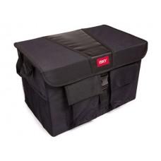 Органайзер с крышкой в багажник  полиэстер, 51x31x31 см, черный iSky iOG-51B