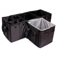 Органайзер в багажник  полиэстер, 115x32x30,5 см, черный, с термосекцией iSky --iOR-102