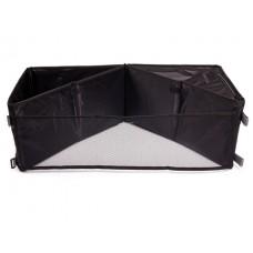 Органайзер в багажник  полиэстер, 36x36x23,5 см, черный, трансформер iSky iOR-30