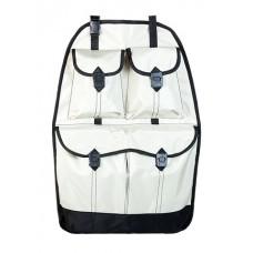 Органайзер на спинку переднего сиденья  полиэстер, 66x43 см, бежевый iSky iOR-S2
