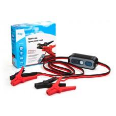 Провода прикуривания  500 Амп., 3 м, в сумке, с автоматическим контроллером полярности, в коробке iSky iBC-500PC