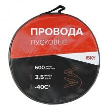 Провода прикуривания  600 Амп., 3,5 м, в сумке iSky iJL-600