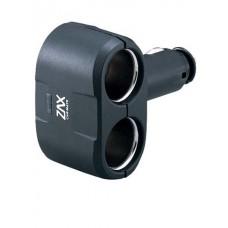 Разветвитель прикуривателя Carmate 2 Way Socket, 2 гнезда, черный Carmate CZ258