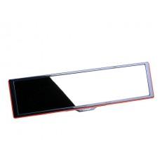 Зеркало заднего вида Mirror With Make Up, сферическое, 270 мм, с дополнительным зеркалом, черное Il Shin 1IT0600017