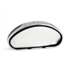 Зеркало заднего вида Wang Mirror 2, овальное, дополнительное с креплением на ухо а/м, серебристое Il Shin AL-18
