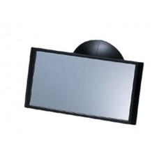 Зеркало в салон автомобиля Carmate Mini Mirror, плоское, черное Carmate CZ272