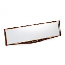 Зеркало заднего вида Carmate Rear View Mirror, сферическое, 270 мм, дерево Carmate DE127(RU)