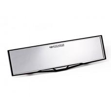 Зеркало заднего вида Carmate FLat Glass Rear View Mirror, плоское, 290 мм, черно-серое Carmate NZ607(RU)