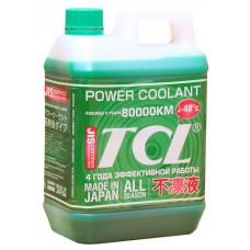 Антифриз  POWER COOLANT -40C зеленый, длительного действия, 2 л TCL PC2-40G