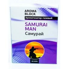 Ароматизатор под сиденье  BLOCK - SAMURAI MAN Aroma AB-05RU