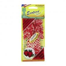Ароматизатор картонный Palm tree - Strawberry Exotica PT24C1-STR