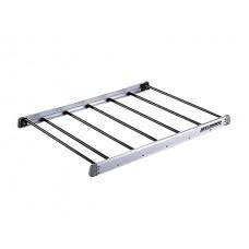 Корзина алюминиевая без борта Aluminum Rack 100 (1109Х1070мм, серебро), для поперечин ш25-32/в15-23мм INNO IN557