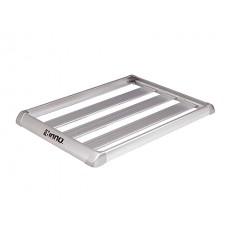 Корзина алюминиевая с бортом Aerorack Shaper 80 (1185Х830мм, серебро), для поперечин ш25-32/в15-23мм INNO IN568