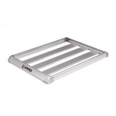 Корзина алюминиевая с бортом Aerorack Shaper 100 (1185Х1065мм, серебро), для поперечин ш25-32/в15-23мм INNO IN569