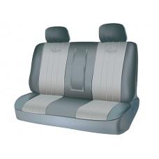 Чехлы на задний ряд сидений из полиэстера  SPECIAL, серия для микроавтобусов и минивэнов, поролон 5 мм, 5 предм., сер. Kaiteki USC-PTL-004(G)