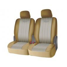 Чехлы на задний ряд сидений из полиэстера  SPECIAL, серия для микроавтобусов и минивэнов, поролон 5 мм, 6 предм., беж. Kaiteki USC-PTL-006(B)