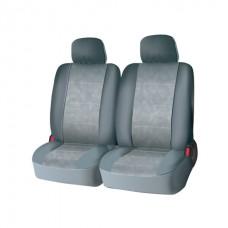 Чехлы на средний или задний ряд сидений из велюра  CONSTRUCTOR, серия для микроавтобусов и минивэнов, поролон 5 мм, 6 предм., сер. iSky iSV-SP-03GR