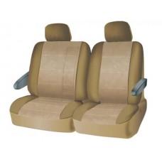 Чехлы на средний или задний ряд сидений из велюра  CONSTRUCTOR, серия для микроавтобусов и минивэнов, поролон 5 мм, 6 предм., беж. iSky iSV-SP-05BE
