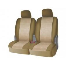 Чехлы на задний ряд сидений из велюра  CONSTRUCTOR, серия для микроавтобусов и минивэнов, поролон 5 мм, 6 предм., беж. iSky iSV-SP-06BE