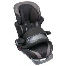 Кресло детское автомобильное Saratto Cruise 4S, группа 1/2/3, черно-серое Carmate ALC301E