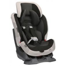 Кресло детское автомобильное Swing Moon Premium, группа 1/2, черно-серое Carmate ALC460E