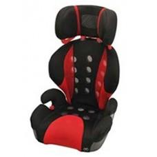 Кресло детское автомобильное Saratto Highback Junior Quattro, группа 2/3, черно-красное Carmate ALJ208