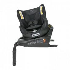 Кресло детское автомобильное Kurutto 3i, группа 0+/1, Isofix, черное Carmate BF800E