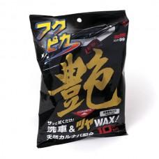Салфетки для кузова усиление блеска  Fukupika Gloss, 10 шт SOFT99 00488