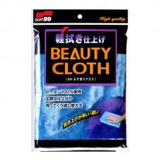 Ткань для полировки автомобиля  Wipe Cloth Blue, 32х22 см SOFT99 04012