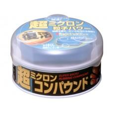 Полироль абразивный мелкий Soft99 Micro Rubbing Compound для темных,180 гр SOFT99 09054