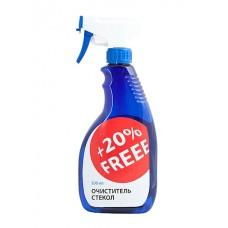 Очиститель стекол +20% FREE, 500мл +20Freee 502586