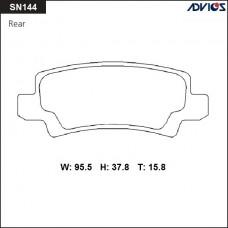 Колодки тормозные дисковые Advics SN144
