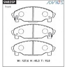Колодки тормозные дисковые Advics SN835P