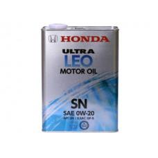 Масло моторное  Ultra LEO SN/GF-5 0W-20, 4л Honda 08217-99974