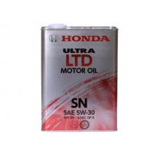 Масло моторное  Ultra LTD SN/GF-5 5W-30, 4л Honda 08218-99974