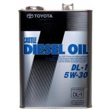 Масло для дизельных двигателей  Diesel Oil DL-1 5W30, 4л Toyota 08883-02805