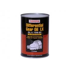 Масло для дифференциалов повышенного трения синтетическое  LX LSD GL-5 75W-85, 1л Toyota 08885-02606