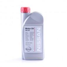 Масло моторное  MOTOR OIL SM/CF ACEA A3/B4 5W40, 1л Nissan KE90090032R