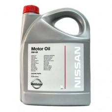 Масло моторное  MOTOR OIL SM/CF ACEA A3/B4 5W40, 5л Nissan KE90090042R