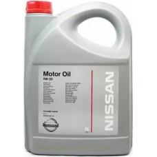 Масло моторное  MOTOR OIL 0W20, 5л Nissan KE90090143R