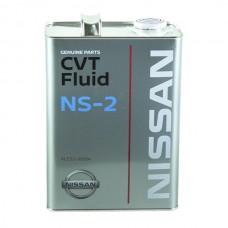 Масло трансмиссионное  CVT NS-2, 4л Nissan KLE5200004EU