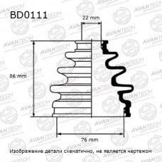 Пыльник привода Avantech BD0111