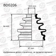 Пыльник привода Avantech BD0206