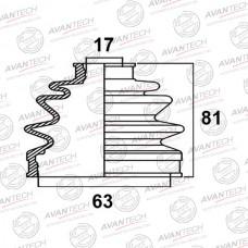 Пыльник привода Avantech BD0311