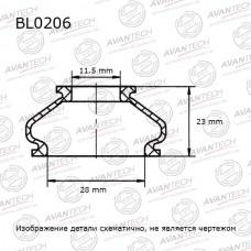 Пыльники деталей подвески Avantech BL0206