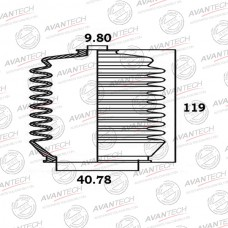 Пыльник рулевой системы Avantech BS0110